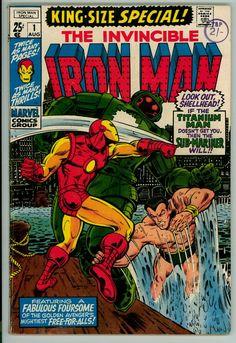 Iron Man Annual 1 (FN- 5.5)