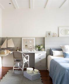 00460975_O. Dormitorio juvenil con cabecero, mesita y escritorio de madera a medida_00460975_O