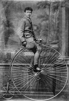 Penny Farthing...The ultimate fixie.