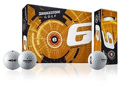 Golf Balls Ideas | Bridgestone e6Web Golf Ball Dimple Technology White M 1B5E6 by Bridgestone >>> Read more  at the image link. Note:It is Affiliate Link to Amazon. #clouds