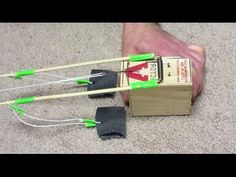 How to make a Mousetrap Powered DOUBLE Trebuchet  (Watch Video)  In this video I will show you how to make a Mousetrap Powered Trebuchet. This is a great toy for kids. It can teach them the science with catapults.   www.specificlove.com