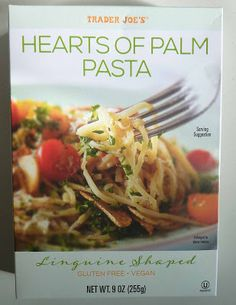 What's Good at Trader Joe's?: Trader Joe's Hearts of Palm Pasta Chicken And Vegetables, Veggies, Peanut Snacks, Grilled Chicken Strips, Good Healthy Recipes, Healthy Food, Tomato Cream Sauces, Creamy Cauliflower, Veggie Noodles