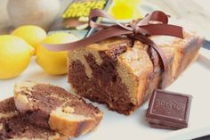 Cake Marbré Chocolat  Citron