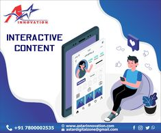 """""""Interactive content adds another dimension to the web that enables viewers to actively participate and effectively contribution."""" Visit: www.astarinnovation.com Contact: +91-7800002535 #DigitalMarketer #DigitalMarketingAgency #AStarInnovation #BrandBuildingService #Lucknow #interactive #art #design #technology #education #interactiveart #digitalart #innovation #installation #augmentedreality #business #virtualreality #creative #online #entertainment #digital #training #immersive #events… Augmented Reality, Virtual Reality, Interactive Art, Brand Building, Digital Marketing, Innovation, Family Guy, Training, Entertainment"""