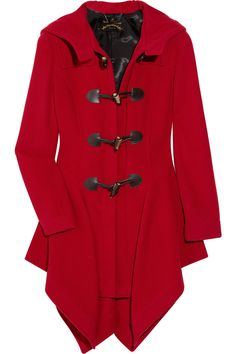 'just-au-corps' wool-blend duffle coat vivienne westwood net-a-porter