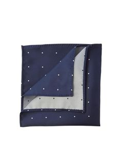 ASOS Pocket Square With Spaced Out Polka Dot