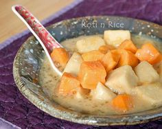Please share Bubur Cha Cha is a popular Malaysian dessert consisting of a medley of sweet potatoes, taro, tapioca flour jelly, and sago in a thick coconut sauce flavored with pandan. Sometimes black eyed...