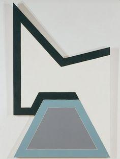 Frank Stella Wolfeboro I 1966 geometric abstraction Geometric Painting, Geometric Art, Abstract Art, Franz Kline, Hard Edge Painting, Action Painting, Jackson Pollock, Op Art, Frank Stella Art