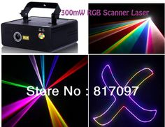 259.99$  Watch here - http://alij19.worldwells.pw/go.php?t=1450299005 - Venta 300mW RGB Colorido Escaner Luz Laser Grafica Lasers 10KPPS Velocidad Escaner DJ Etapa Eventos Fiestas KTV Envio Gratis 259.99$
