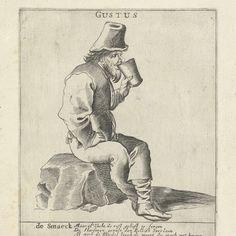 De Smaak, Pieter Jansz. Quast (possibly), after Pieter Jansz. Quast, 1615 - 1647 - Rijksmuseum
