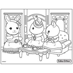 Image Result For Sylvanian Families Coloring Pages