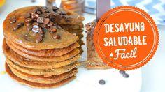 DESAYUNO SALUDABLE | PANCAKES SIN HUEVOS, LACTEOS y  GLUTEN