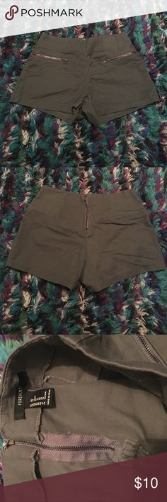 Forever21 shorts Tight and high waisted. Stylish. Label for exposure PINK Victoria's Secret Shorts