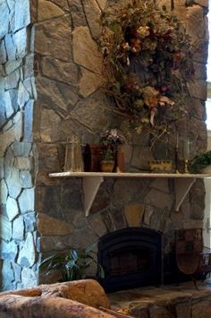 Photo Gallery- , Interior, Fireplace, Hearth, Keystone, Thin Wall ...