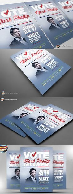 Bar Snacks Flyer Template Flyer template, Template and Business - political brochure