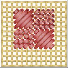 The Checkered Scotch Stitch