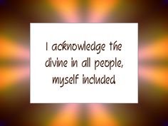 Daily Affirmation for October 31, 2013