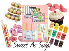 All things sweet was Stephanie Ricci's inspiration when she created her 'Sweet as Sugar' mood board. With a bright colour pallet for summer and larger than life sweets and macaroons, Stephanie wants to create an eye-catching window with a feminine flare.