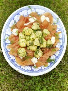 Smoked Salmon Potato Salad | Fish Recipes | Jamie Oliver Recipes