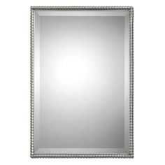 Have to have it. Uttermost Sherise Rectangle Wall Mirror - 21W x 31H in. - $283.8 @hayneedle
