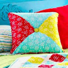 Image result for quilted pillow cover patterns