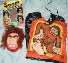 Ben Cooper Bigfoot costume