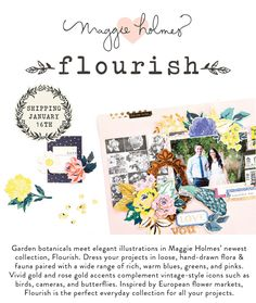 NEW from Maggie Holmes: Flourish!
