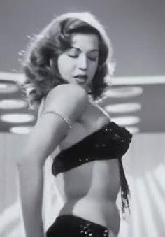 Bellydance star of the 40's and 50's Samia Gamal.