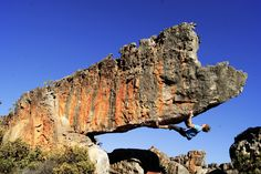 Cedarberg mountains - Western Cape - South Africa (Rocklands on I Love Climbing) Sa Tourism, Paradise Found, Climbers, Countries Of The World, Rock Climbing, Bouldering, South Africa, Mount Rushmore, Around The Worlds