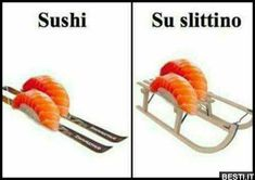 Sushi | BESTI.it - immagini divertenti, foto, barzellette, video Funny Relatable Memes, Wtf Funny, Funny Quotes, Hilarious, Hi Meme, Funny Images, Funny Pictures, Serious Quotes, Cheer Up