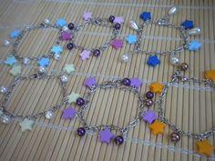 PolymerClay Bracelet with little stars - Bracciali con stelline in #fimo