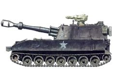 M109 Self-propelled Howitzer, U. S. Army 11th Armored Cavalry, 1969