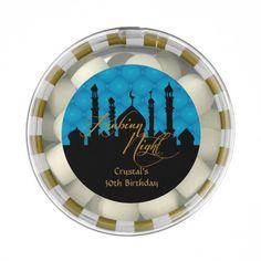 Arabian Nights, Sweet Sixteen Party Favors