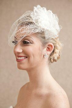 RENT a Birdcage veil...Claudia Veil $50 http://www.happilyeverborrowed.com #veil #wedding #bride