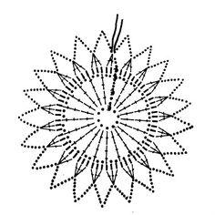 snowflakes crochet 139