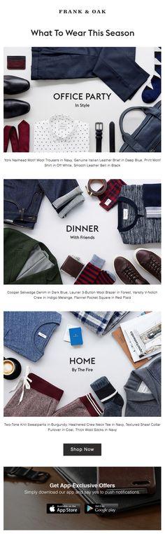 Frank & Oak : Outfitting