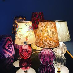 "626 Synes godt om, 21 kommentarer – Tina Seidenfaden Busck (@theapartmentdk) på Instagram: ""We adore coloured glass and textiles #vintagelamps #muranolamps #newarrivals #theapartmentdk"""