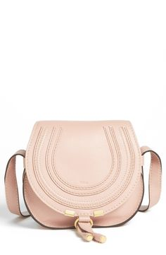 Can't get over how pretty this blush-hued Chloé crossbody bag is!