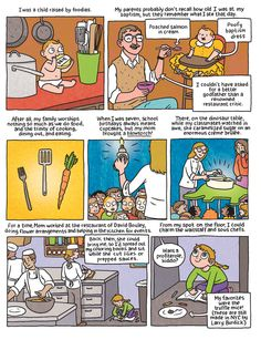 Food Comics Turn 'ZAP' And 'POW' Into 'Sizzle' And 'Bubble'