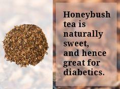 Honeybush tea for diabetics