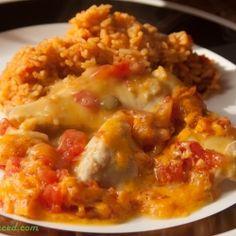 Creamy Mexican Chicken | RecipeNewZ