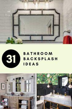 31 Bathroom Backsplash Ideas | Sebring Design Build