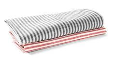 Striped Cotton & Hemp Napkin - Kaufmann Mercantile