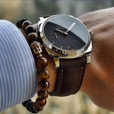 the best attitude ac1f1 c3371 by  modamensfashion Cool Watches, Man Watches, Black Watches, Dress Watches,  Panerai