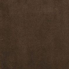 Mocha Brown Solid Velvet Upholstery Fabric