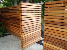 Wooden walls...  Natural Habitats Landscapes Ltd Landscape Design Garden Design…