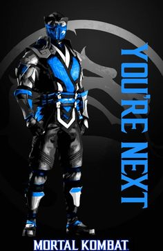 Sub Zero You're Next by KalekronReborn on DeviantArt Mortal Kombat Fight, Mortal Kombat Video Game, Video Game Characters, Naruto Characters, Mi Images, Claude Van Damme, Noob Saibot, You're Next, Back In The 90s