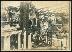 An interior shot of the Missouri Building auditorium after the fire at the 1904 World's Fair. (Missouri History Museum)