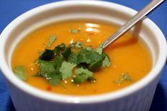Zöldségből krémleves   Mindmegette.hu Jalapeno Soup Recipe, Ww Recipes, Soup Recipes, Healthy Soup, Healthy Eating, 7 Day Meal Plan, Sweet Potato Soup, Detox Soup, Food Videos