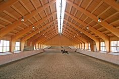Riding halls - Riding facilities - Halls - Farm Buildings - Wolf System Germany
